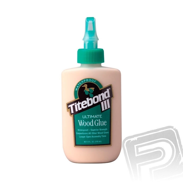 Náhľad produktu - Titebond III Ultimate vodostále disperzné lepidlo 113g (4oz)