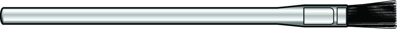 Náhľad produktu - Sada štetcov 10mm na laminovanie 6ks
