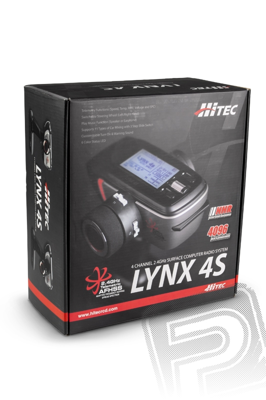 LYNX 4S 2,4GHz + RX Axion 2