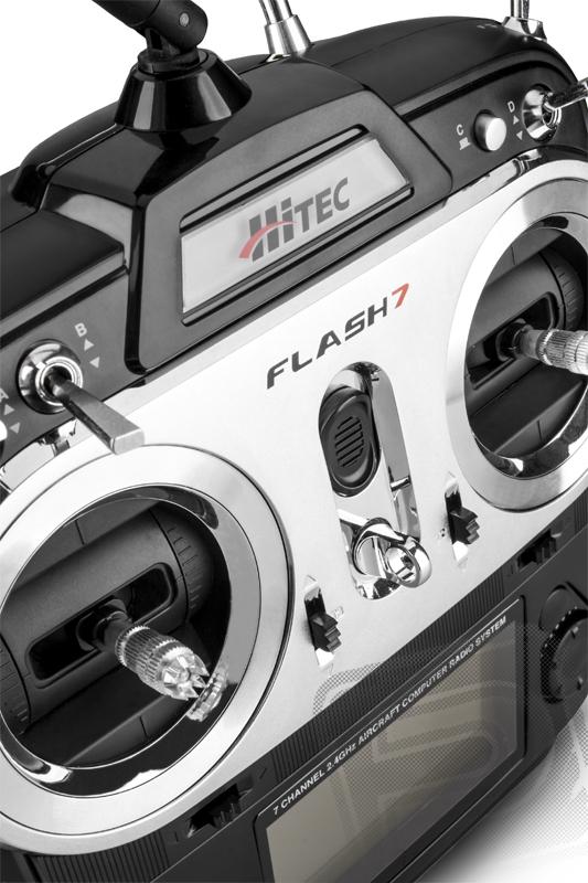 Flash 7 2,4GHz , přijímač MINIMA 6E (Mode 1/3)