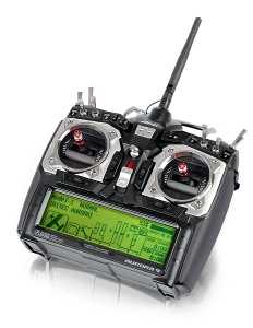 AURORA 9 2.4GHz vysielač s Tx akumulátorom