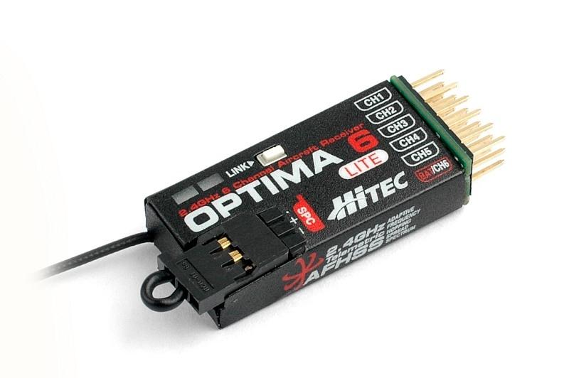 Produkt anzeigen - Empfänger 2,4 GHz Optima 6 Lite