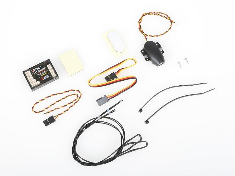 Náhľad produktu - 5831 HTS-SS Telemetrické kombo heli Nitro
