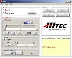 HPP-21 tester a programátor (MINI-USB)