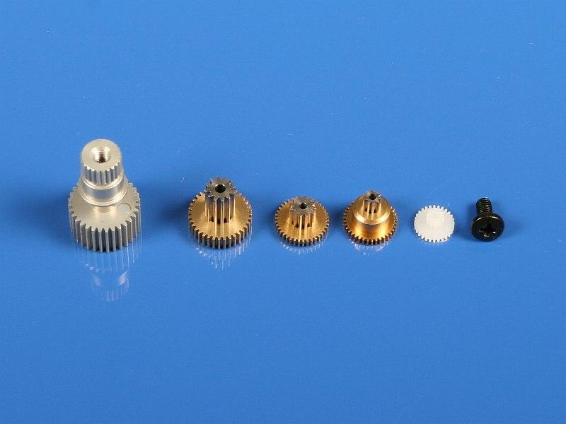 Náhľad produktu - 6388 Kovové prevody HS-85MG/5085MG/5087MH/D85MG