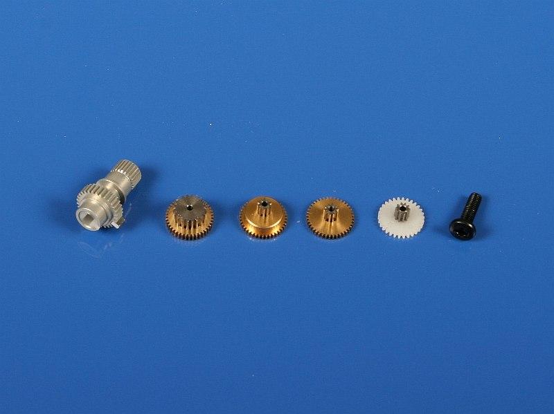 Náhľad produktu - 5301 Kovové prevody HS-125MG/5125MG