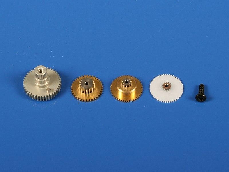 Náhľad produktu - 5302 Kovové prevody HS-625MG/5625MG/5665MH