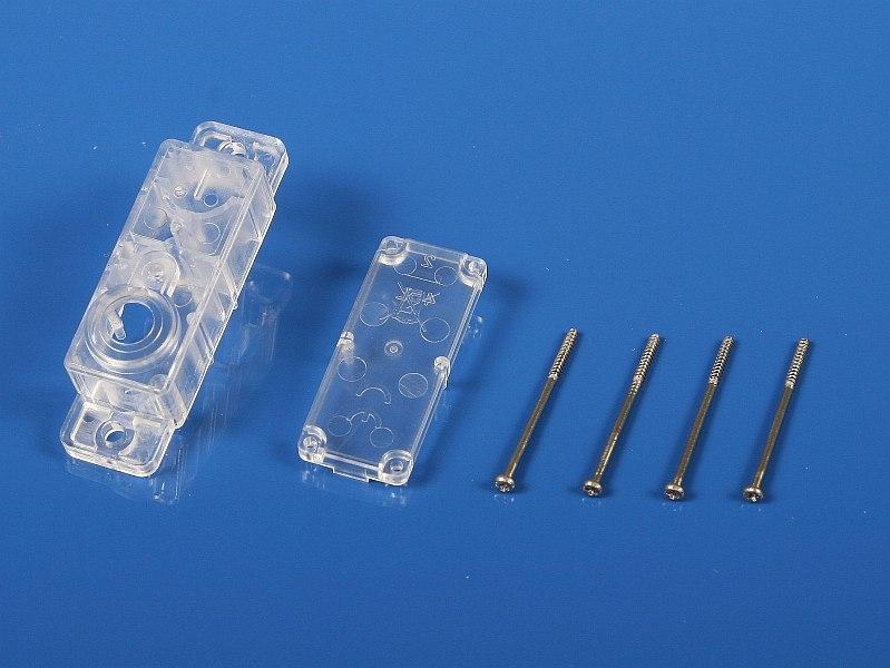 Náhľad produktu - 5428 Krabička serva HS-45/5045 (horná a spodná časť)