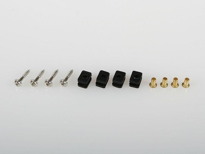 Náhľad produktu - 6336 Sada montážneho príslušenstva štandardných serv Hitec