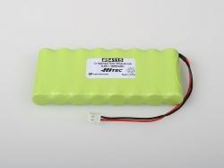 Náhľad produktu - 4115 Tx accu 9.6V NiMh 1600mAh ploché