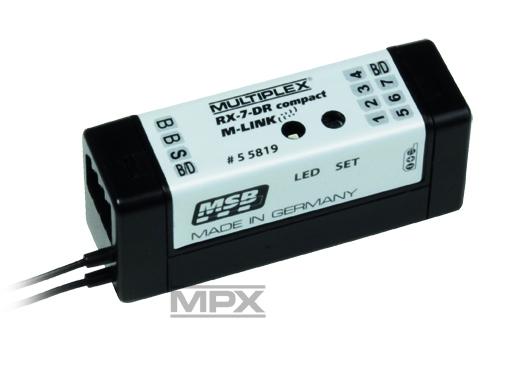 Náhľad produktu - Prijímač RX-7 DR compact M-LINK 2,4GHz