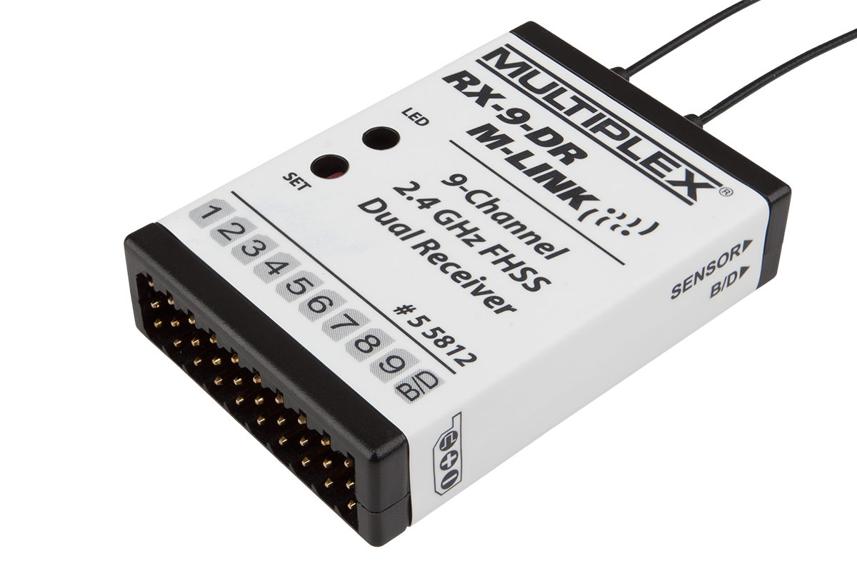 Náhľad produktu - Prijímač RX-9-DR M-LINK 2,4GHz