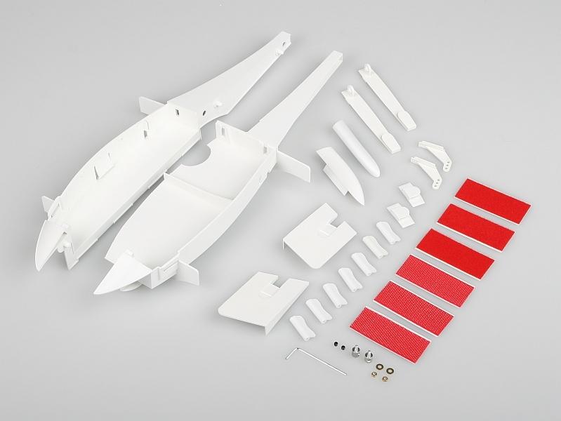 Náhľad produktu - 224110 Xeno (vetroň): Sada drobných a plastových dielov