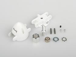 Náhľad produktu - 733504 Xeno: Kužeľ tlačnej vrtule 35 mm s trámcom a unášačom