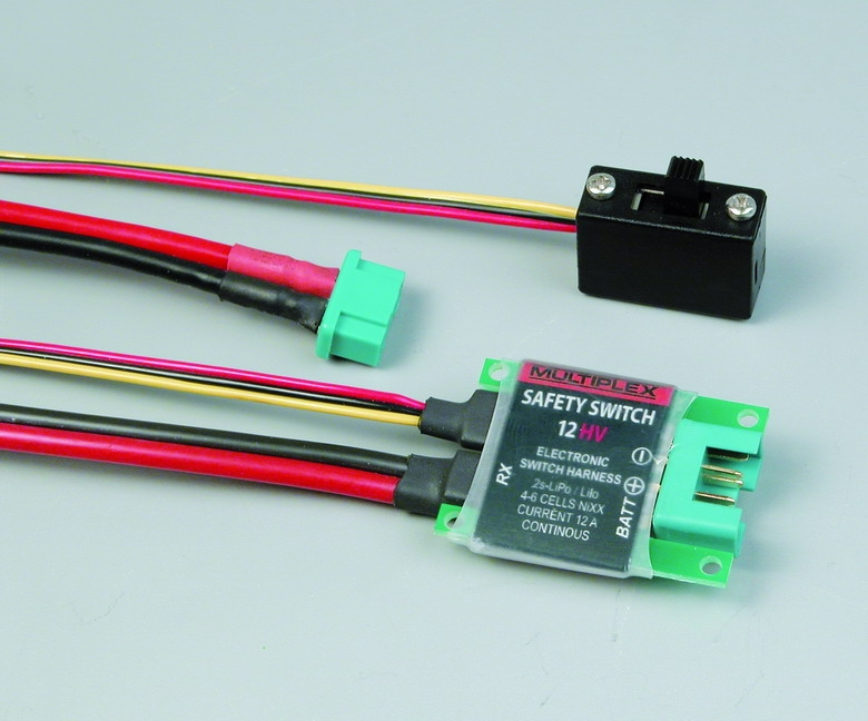 Náhľad produktu - Safety Switch 12HV (M6)