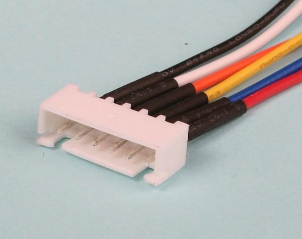 Náhľad produktu - protikus servisního konektoru JST-XH ALIGN (5 čl.)