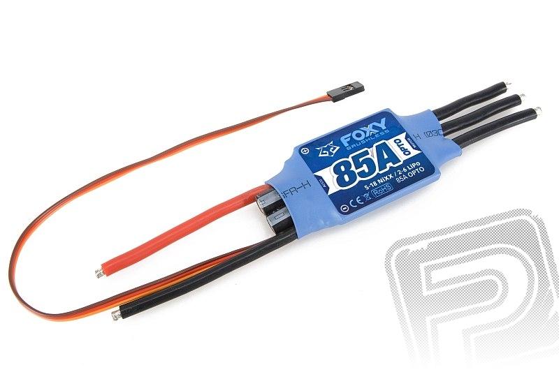 FOXY R-85 OPTO střídavý regulátor 85A air/heli