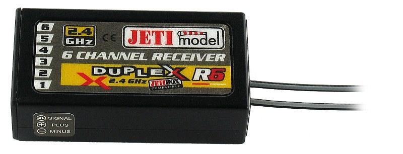DUPLEX EX R6 2.4GHz 6k přijímač