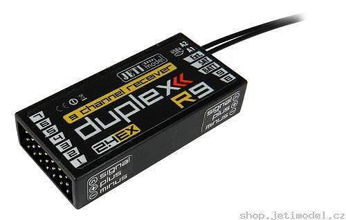 Náhled produktu - DUPLEX EX R9 2.4GHz 9k přijímač (CZ)