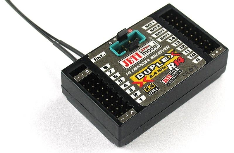 View Product - DUPLEX EX R14 2.4GHz 14Ch Receiver (CZ)