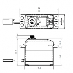 SAVÖX SB-2273SG HiVolt DIGITAL