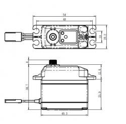 SAVÖX SB-2274SG HiVolt DIGITAL