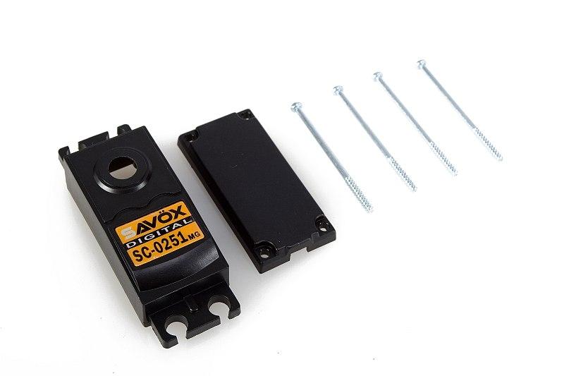 Náhľad produktu - Krabička serva SC-0251MG