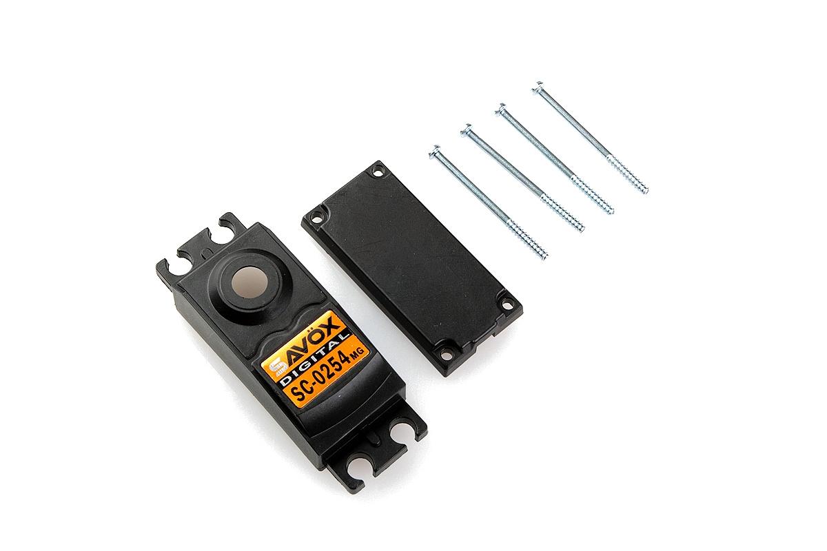 Náhľad produktu - Krabička serva SC-0254MG
