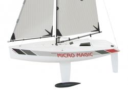 Plachetnice MICRO MAGIC racing ″Tuning verze″ - stavebnice