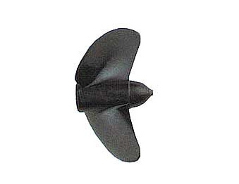 Náhľad produktu - Závodná lodná skrutka 2-listá, ľavá, stúpanie 1,6, 37,5mm/M5