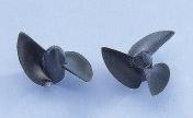 Náhľad produktu - Závodní lodní šroub 2 listý, pravý, stoupání 40mm, 26,0mm/M2