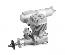 ASP 180AR 30 ccm RC s tlumičem