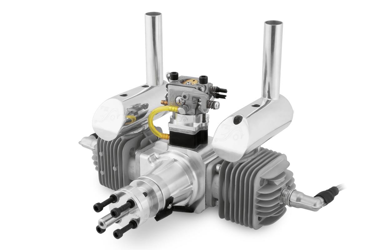 Náhľad produktu - Motor DLA 64ccm (dvojvalec) vrátane tlmiča a príslušenstva