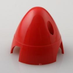 Náhľad produktu - Kužeľ 3-listý 50mm Červený Angl.