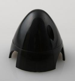 Náhľad produktu - Kužeľ 3-listý 50mm Čierny Angl.