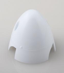 Náhľad produktu - Kužeľ 3-listý 57mm Biely Angl.