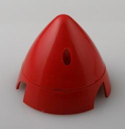 Náhľad produktu - Kužeľ 3-listý 63mm Červený Angl.