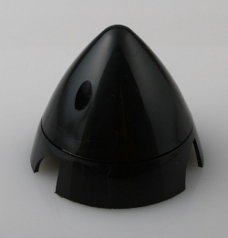 Náhľad produktu - Kužeľ 3-listý 63mm Čierny Angl.