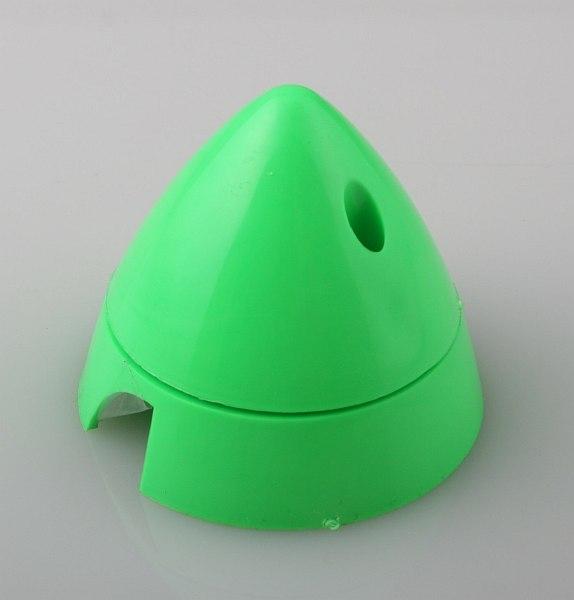 Náhľad produktu - Fluorescenčný kužeľ 63mm Zelený Angl.