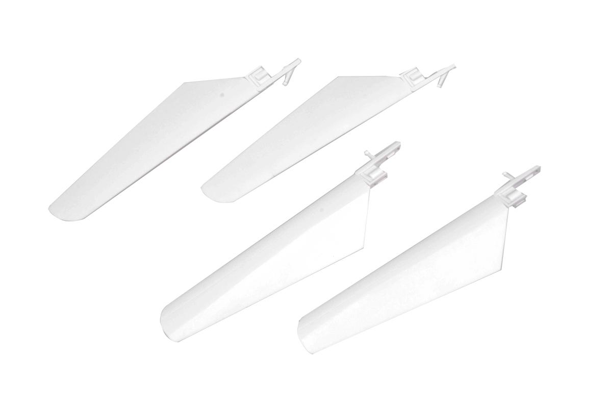 Náhľad produktu - Listy rotoru, sada (bílá) - V4 COLIBRI, Solo V1