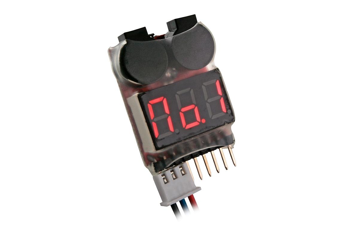 LiPo alarm 2-8S - zvuková signalizace napětí