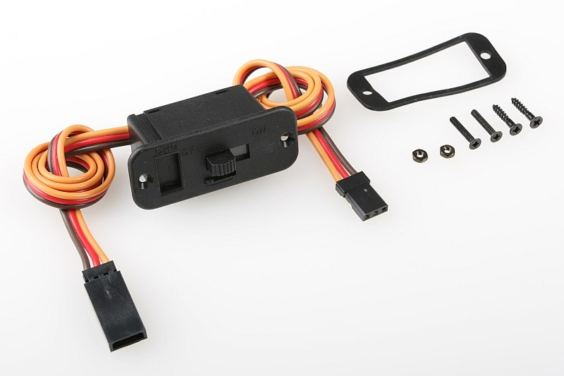 Náhľad produktu - Vypínač GOLD JR/Graupner, Hitec konektor