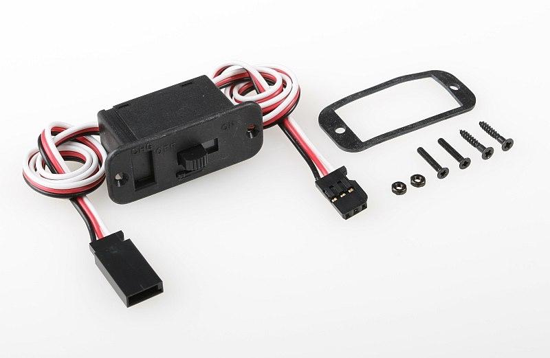 Náhľad produktu - Vypínač Gold s Futaba konektorom