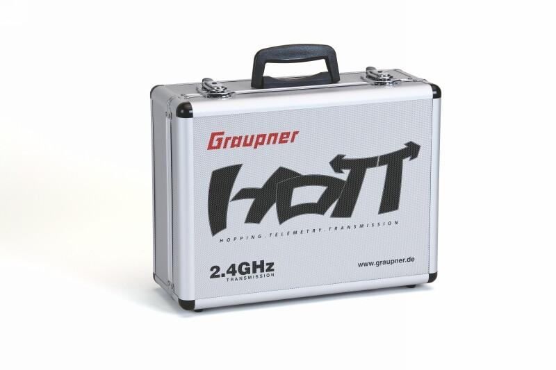 Náhľad produktu - Alu-vysielačový kufor GRAUPNER HoTT 400x300x150mm