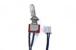 Náhľad produktu - Vypínač krátký, 2-polohový s pojistkou