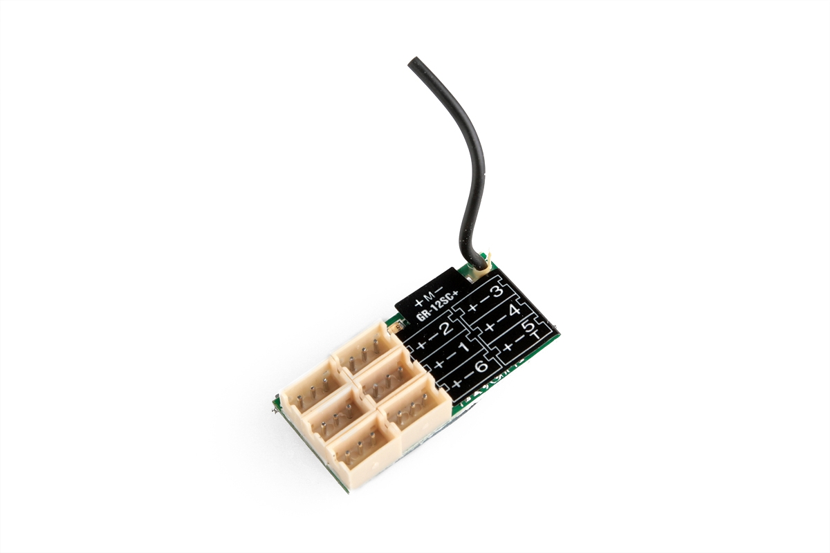 Náhľad produktu - GR-12SC přijímač HoTT