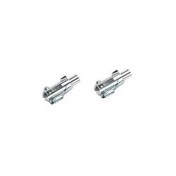 Náhľad produktu - Vidlička kovová M4 s poistkou (5 ks)