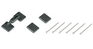 Náhľad produktu - Pánty vztlakových klapiek 45×18 mm (6 ks)