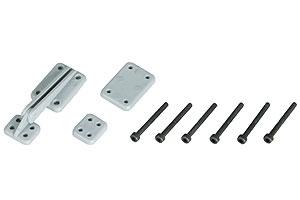 Náhľad produktu - Pánty vztlakových klapiek 59×21 mm (6 ks)