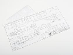 SIG Aeronca Champ (457mm), laserom rezaná